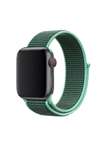zore Apple Watch 5 44 Mm Özel Tasarim Hasır Kordon