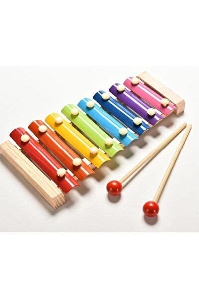 Neşeli Wooden Toys Ksilofon 8 Nota