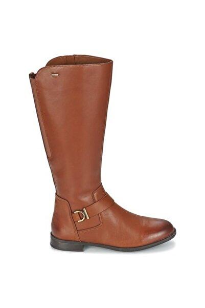 CLARKS Kadın Kahverengi Ortopedik Su Geçirmez Gore-tex Ürün Adı Mint Treat Performance Comfort Çizme