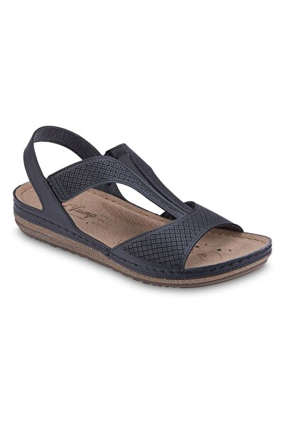 Jump Siyah Kadın Sandalet 17Y00023