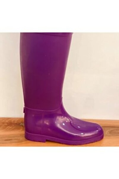 Bayan Uzun Yağmur Çizmesi