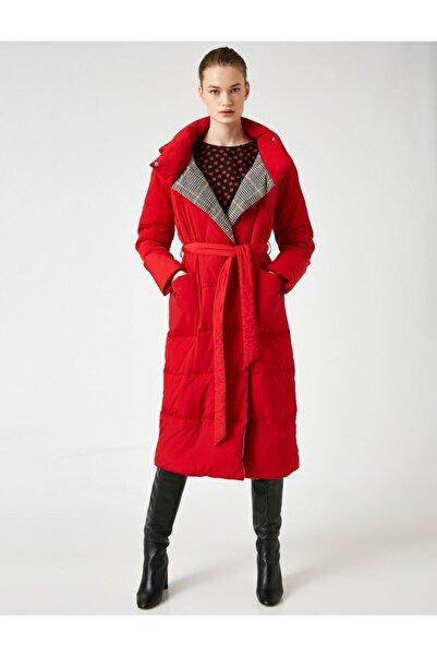 Koton Kadın Kırmızı Kaban 0KAK06397GW