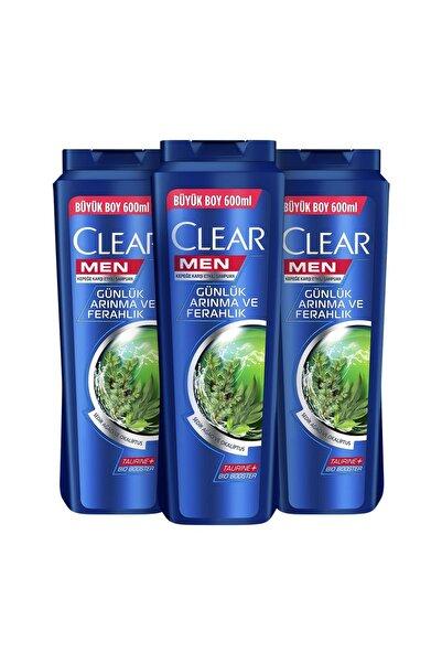 Clear Men Günlük Arınma Ve Ferahlık 600 ml x3