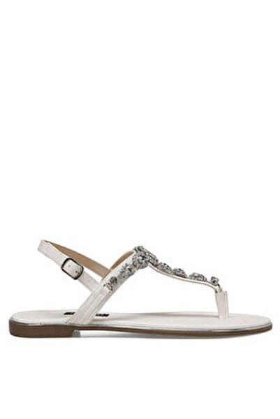ZULI Beyaz Kadın Sandalet 100524863