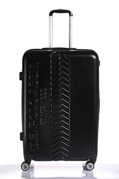 U.S POLO Plvlz8058-l Siyah Unısex Büyük Boy Valiz