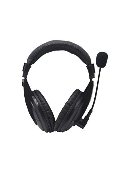 Platoon Siyah Mikrofonu Yandan Pc Kulaklık Pl-2363