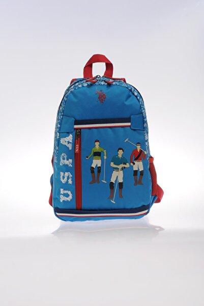 U.S. Polo Assn. Plçan9258 Mavi Erkek Çocuk Okul Ve Sırt Çantası