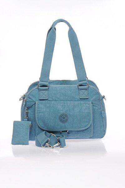 SMART BAGS Smb1122-0050 Buz Mavisi Kadın Omuz Çantası
