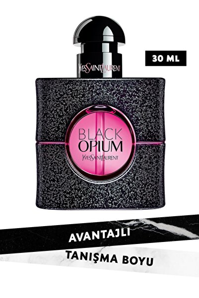 Yves Saint Laurent Black Opium Neon Edp 30 ml Kadın Parfüm 3614272824966