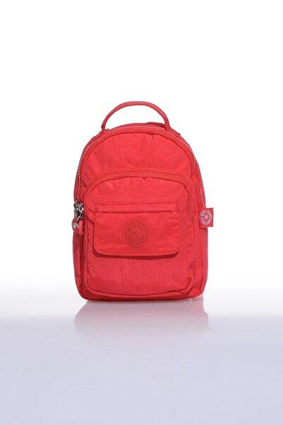 SMART BAGS Smb3027-0019 Kırmızı Kadın Minik Sırt Çantası