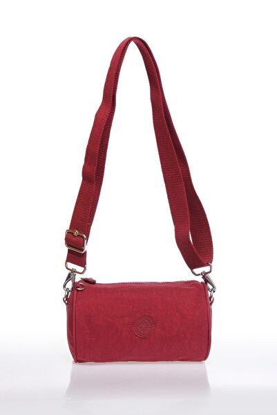 SMART BAGS Smb3025-0021 Bordo Kadın Çapraz Çanta