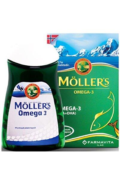 Mollers Möller's Omega-3 60 Kapsül