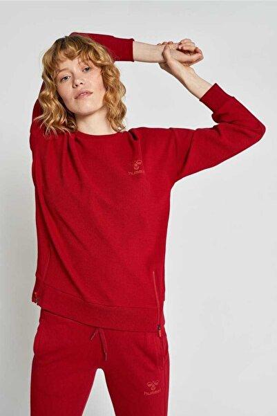 HUMMEL Kadın Agame Kırmızı Sweatshirt 921049-9966