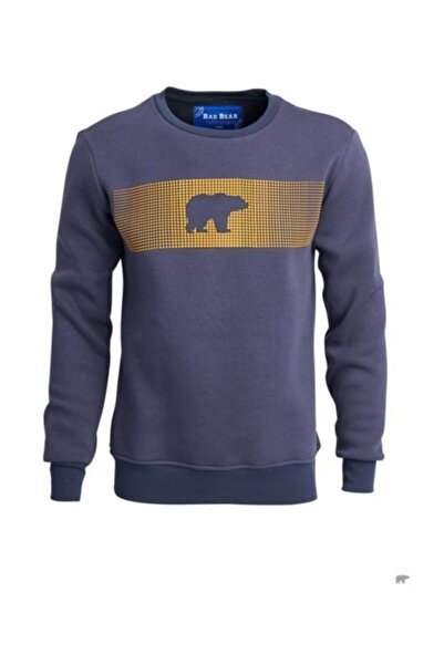 Bad Bear Erkek Mavi Sweatshirt Fancy 190212007rvn
