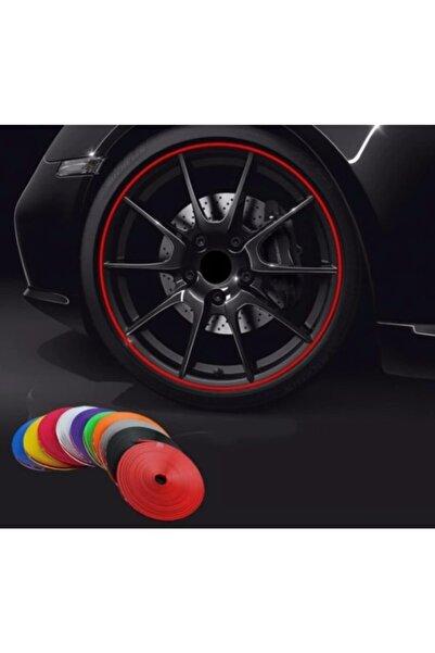 andela Araba Jant Ve Trim Dekorasyon Bandı Kırmızı Renk