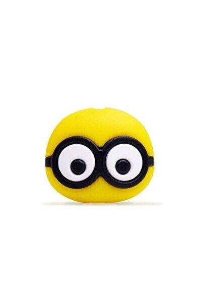 MY MÜRDÜM Kablo Koruyucu Sevimli Karakter Sarı Gözlük