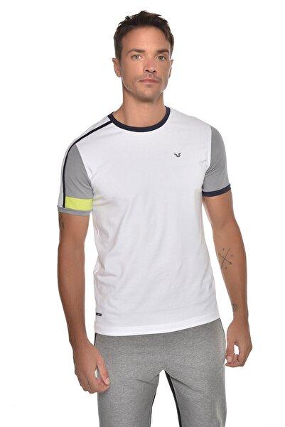 bilcee Beyaz Erkek Kısa Kol T-shirt Gw-9387