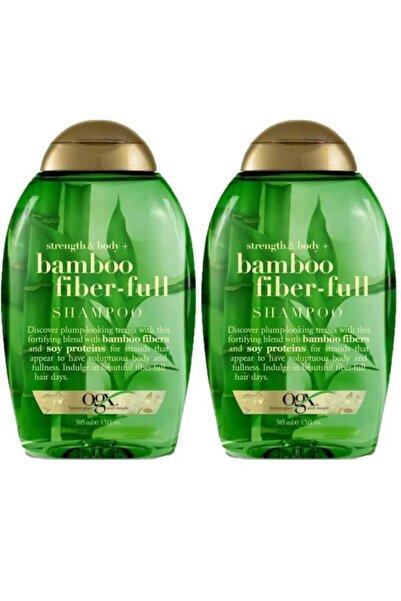 OGX Organix Bamboo Fiber Full Şampuan 385 Ml X2