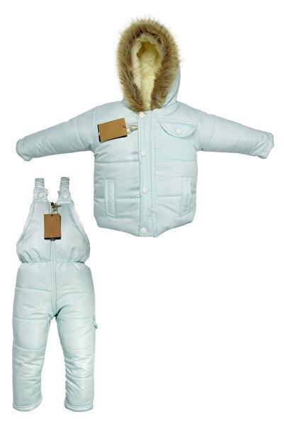 Supriz Sepeti Welsoft Bebek Buz Mavisi Astronot Mont Çocuk Kozmonot Tulumu