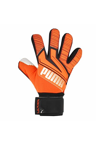 Puma Ultra Grip 1 Junior Rc Shocking Unisex Turuncu Futbol Kaleci Eldiveni