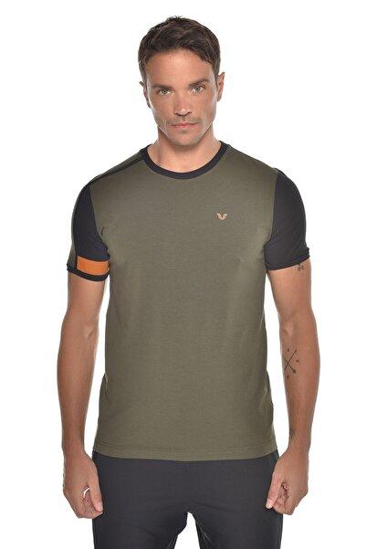 bilcee Haki Erkek Kısa Kol T-shirt Gw-9387