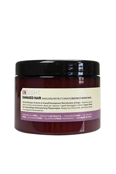 Insight Damaged Hair Restructurizing Yıpranmış Saç Maskesi 500 ml 8029352150197