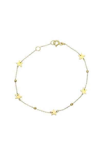 Glorria Kadın Altın Dorika Yıldız Bileklik