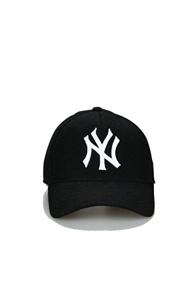 NuxFah Unisex Siyah Ny New York Şapka