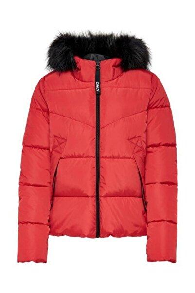 Only Onlmonıca Short Puffer Jacket Cc Otw