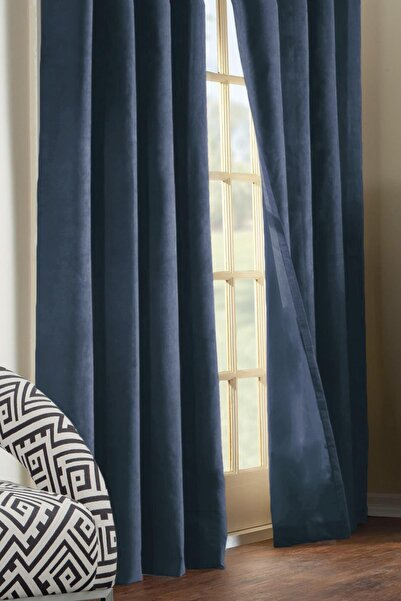 Premier Home Lacivert Fon Perde 170 x 270 cm