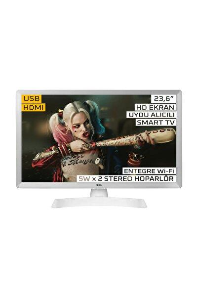 """LG 24TL510S-WZ 24"""" 61 Ekran Uydu Alıcılı HD Ready Smart LED Monitör TV"""