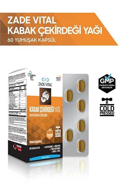 Zade Vital Kabak Çekirdeği Yağı 320 Mg 60 Yumuşak Kapsül - Blister