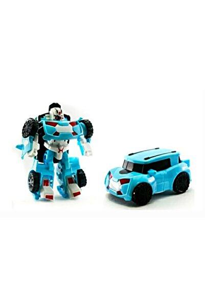 CİMCİME OYUNCAK Coa1 Mini X3 Tobot Transformers Stil Dönüşebilir Oyuncak Araç Hem Robot Hem Araba 12 cm