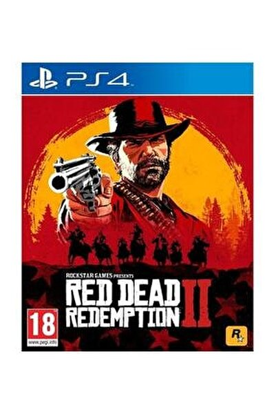 Ps4 Red Dead Redemption 2 Standart Edition