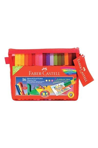 Faber Castell Eğlenceli Çantalı Keçeli Kalem Seti 16 Renk 5068168820