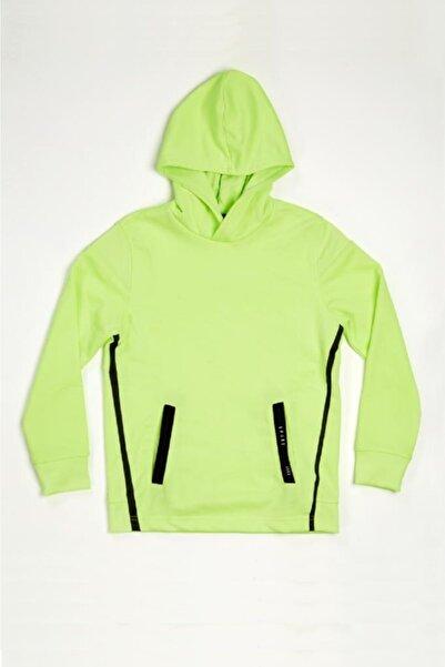 Wonder Kıds Wonder Kids Genç Erkek Yeşil Neon Kapüşonlu Sweatshirt Mk20aw8021