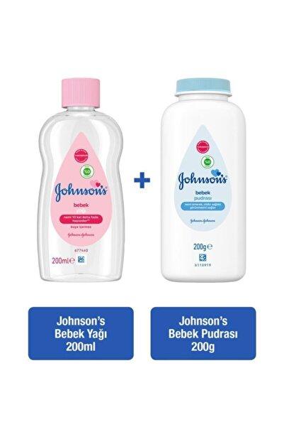 Johnson´s Baby Johnson's Baby Yağ 200 Ml + Pudra 200 Ml