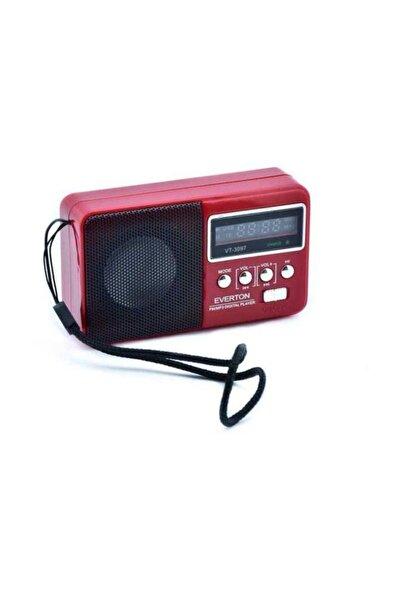 Everton Vt-3097 Radyo Müzik Kutusu Usb/sd/tf/aux Kırmızı