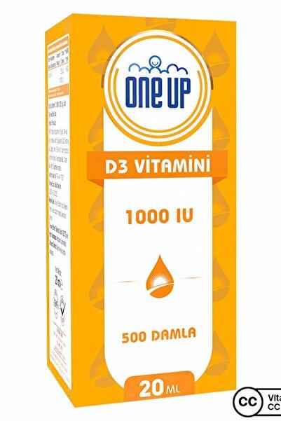 One Up D3 Vitamini 1000 Iu 20 Ml Damla