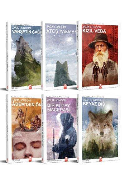 Kızıl Panda Yayınevi Jack London Seti 6 Kitap
