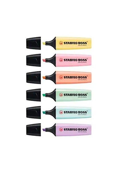 Stabilo Boss Original Fosforlu İşaretleme Kalemi 6 Renk Set