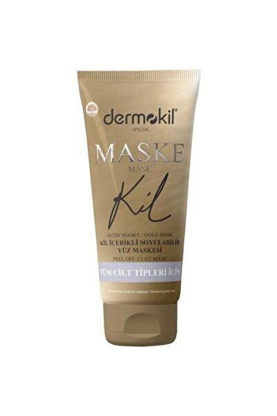 Dermokil Maske Soyulabilir Altın Kil Içerikli 75 Ml