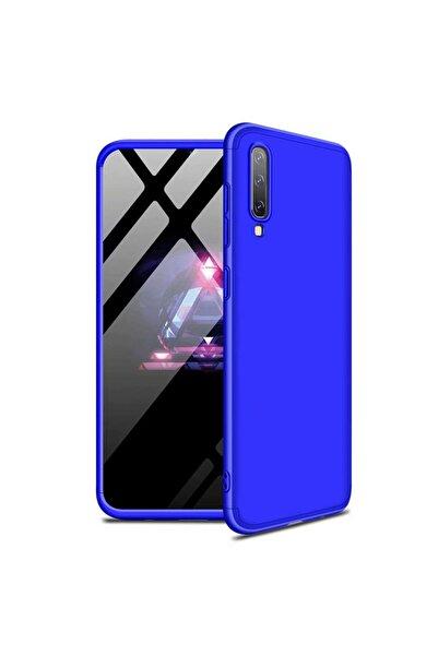 Samsung Microsonic Galaxy A70 Kılıf Double Dip 360 Protective Mavi