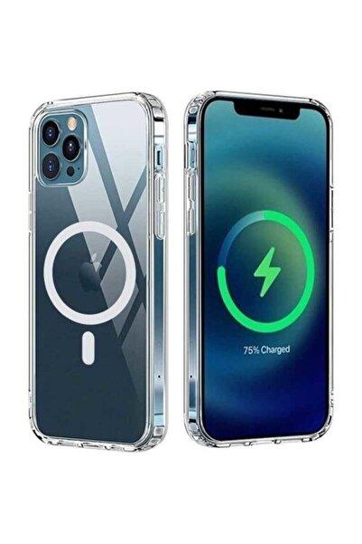 SUPPO Iphone 12 Pro Max Magsafe Kablosuz Şarj Uyumlu Köşe Korumalı Kılıf
