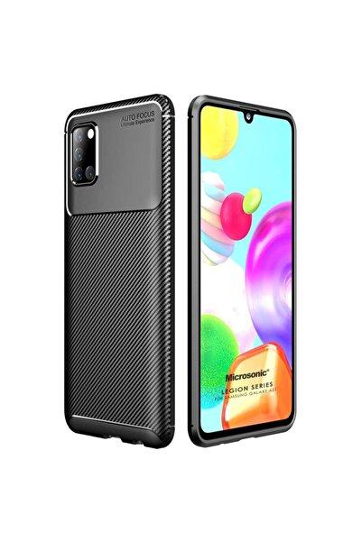 Samsung Microsonic Galaxy A31 Kılıf Legion Series Siyah