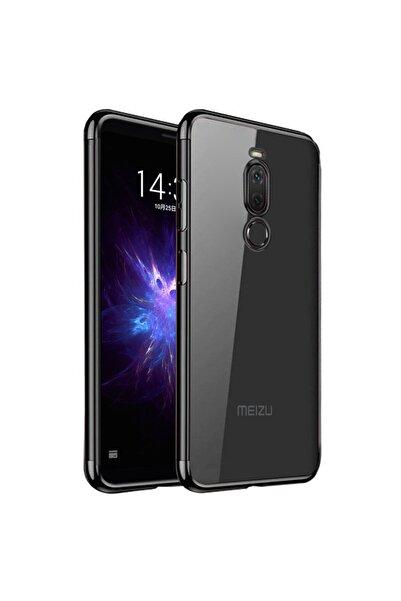 Meizu Microsonic Note 8 Kılıf Skyfall Transparent Clear Siyah