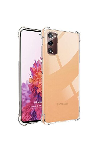 Samsung Microsonic Galaxy S20 Fe Kılıf Shock Absorbing Şeffaf