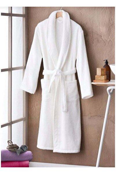 İpek Tekstil Beyaz Bornoz Xl Beden