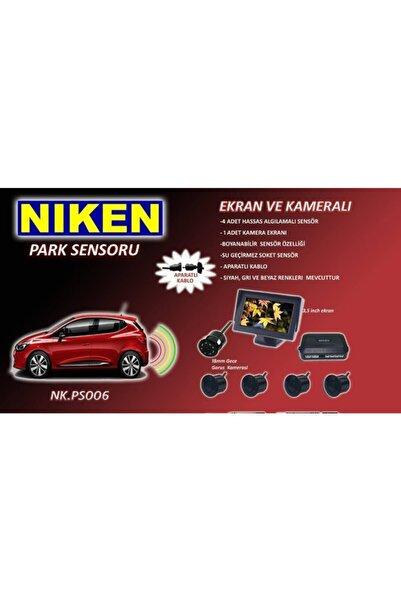 Niken Ekranlı Kameralı Ses Ikazlı Park Sensörü Gece Görüşlü