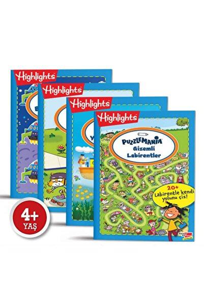 Highlights Yayınları Puzzlemania On The Go Serisi 4'lü Set Mutluminik 4+